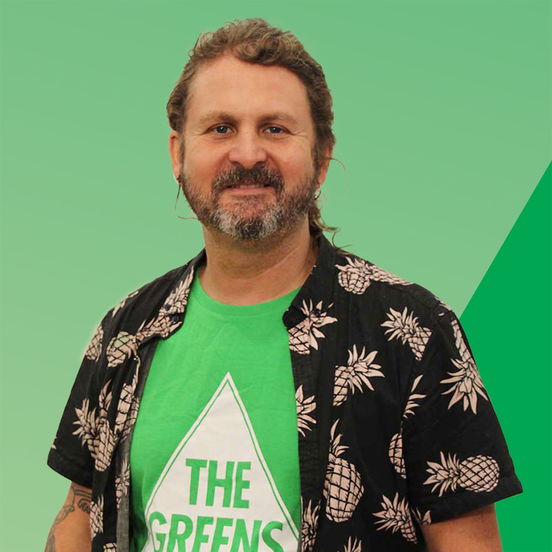 Peter Strong, 2021 Greens candidate for Bayside Council, Mascot Ward